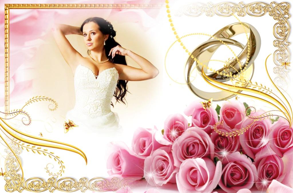 Свадебные рамки рамки для фотошопа